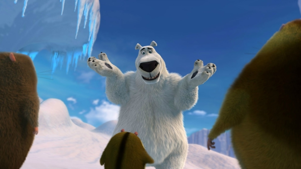 Een ijsbeer in New York in trailer 'Norm of the North'