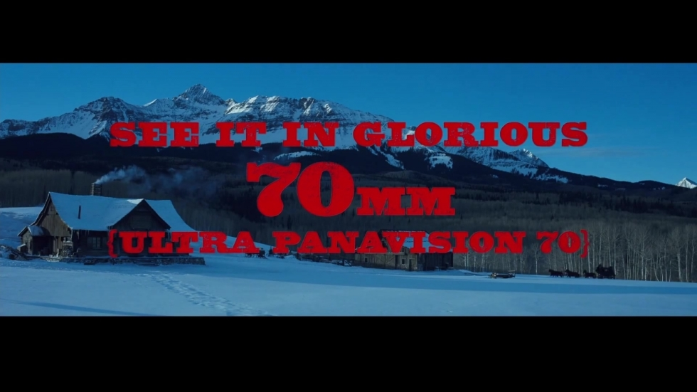Featurette: waarom een 70mm-versie 'The Hateful Eight'?