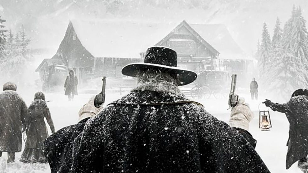 Geladen en pakkende poster 'The Hateful Eight'