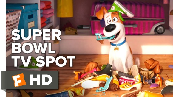 The Secret Life of Pets Super Bowl TV SPOT (2016) - Kevin Hart Animated Movie HD