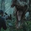 'Jurassic World' begon met roedel raptors die uit een helikopter sprong
