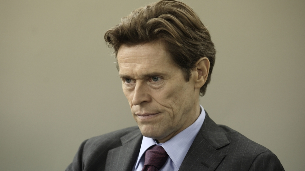 Willem Dafoe naast Nicolas Cage in 'Dog Eat Dog'