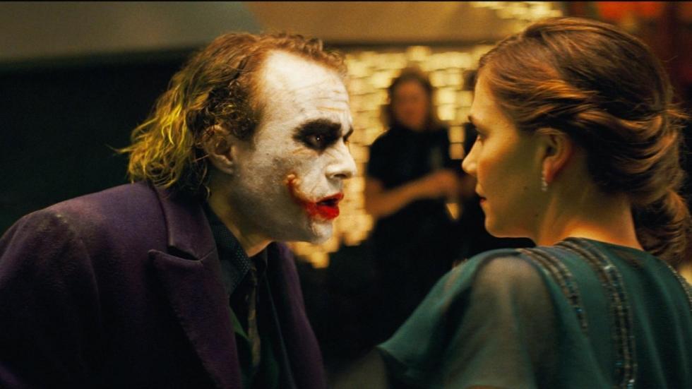 Heath Ledgers The Joker geliefder dan Darth Vader en Hannibal Lector