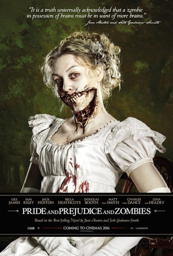 Eerste trailer en poster 'Pride and Prejudice and Zombies'!