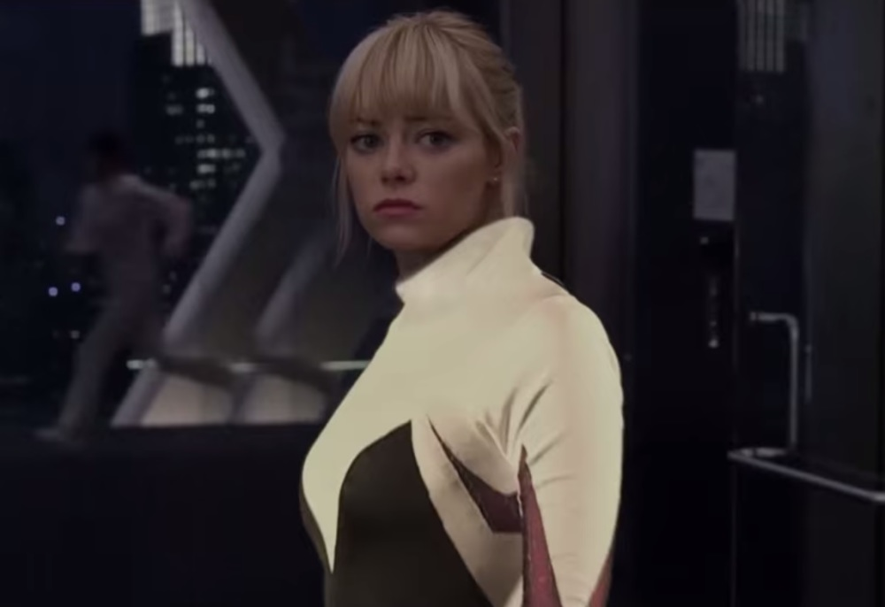 Emma Stone in mash-up trailer 'Spider-Gwen'