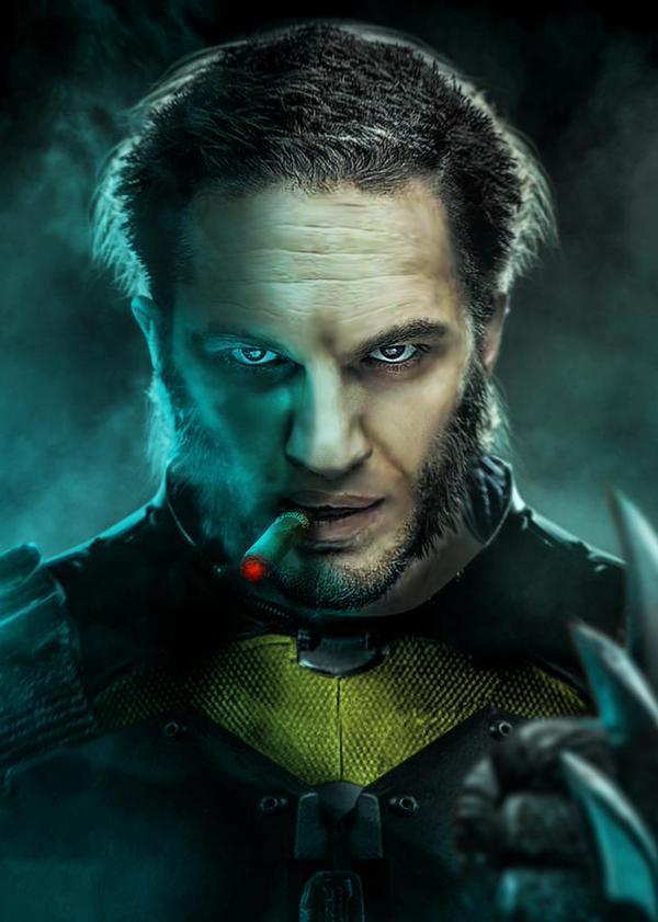 Hugh Jackman ziet in Tom Hardy nieuwe Wolverine