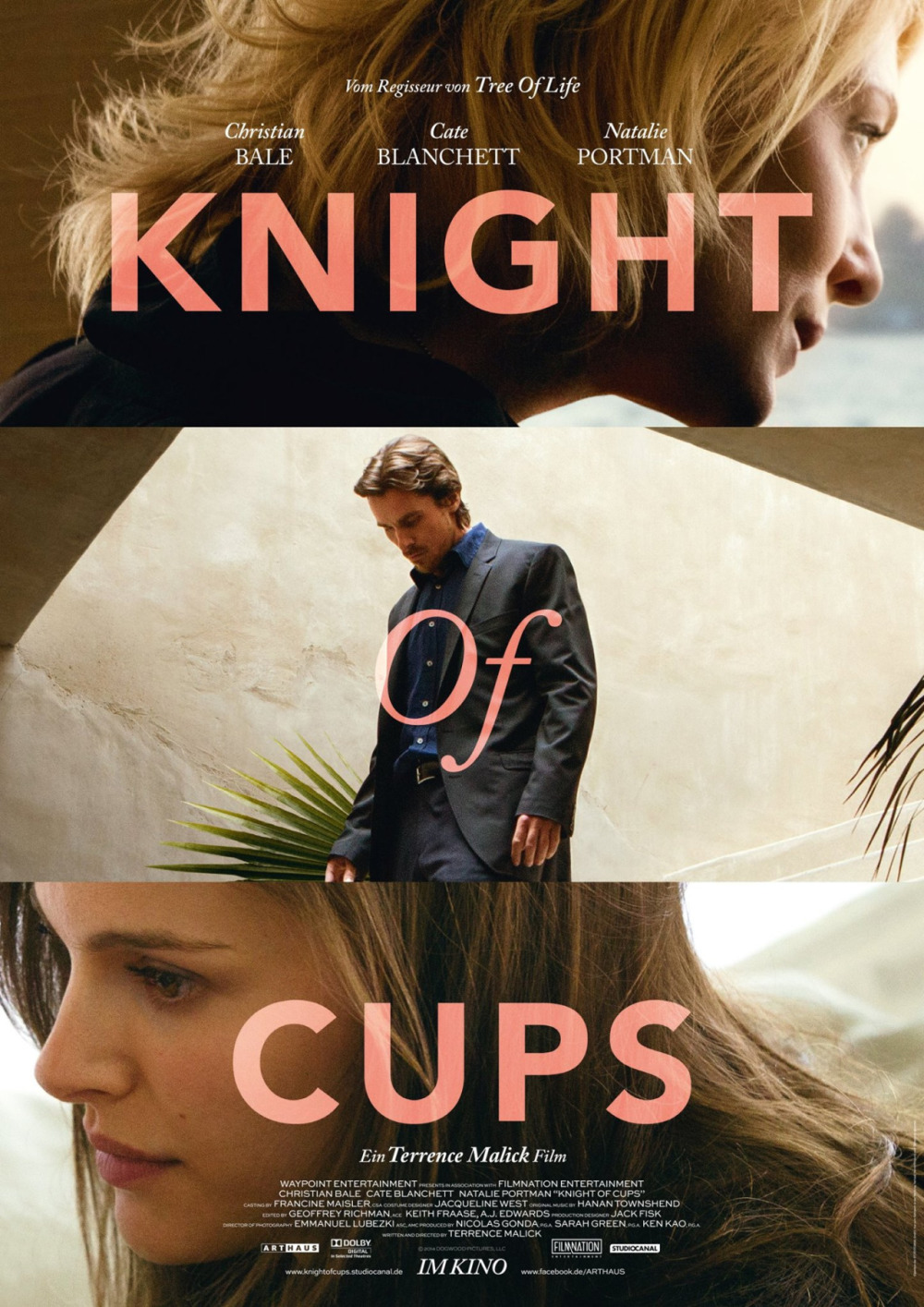 Poster & achter de schermen-featurette 'Knight of Cups'