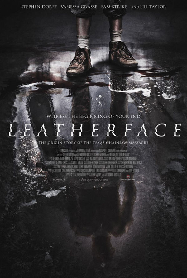 Eerste poster 'Texas Chainsaw'-prequel 'Leatherface'