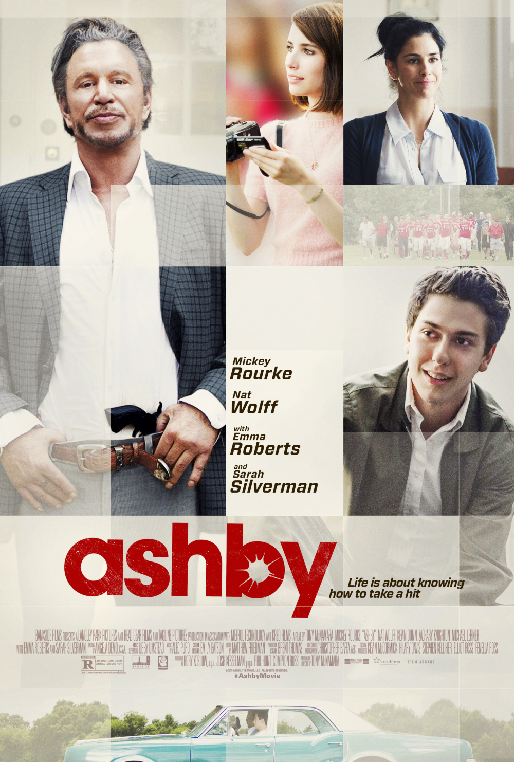 Trailer & poster coming-of-age high school-film 'Ashby'