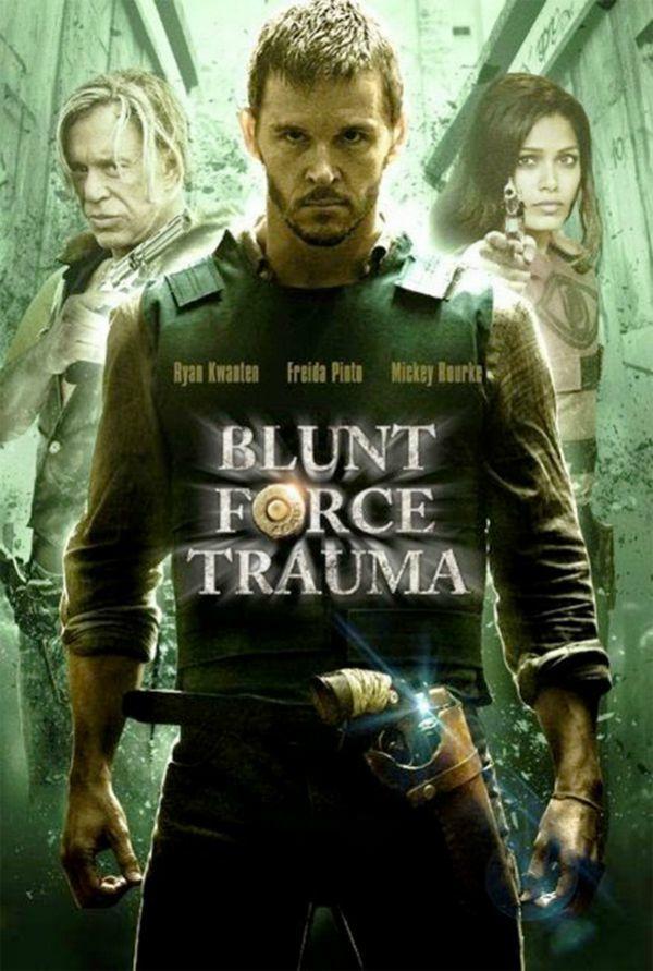 Trailer 'Blunt Force Trauma' met Mickey Rourke