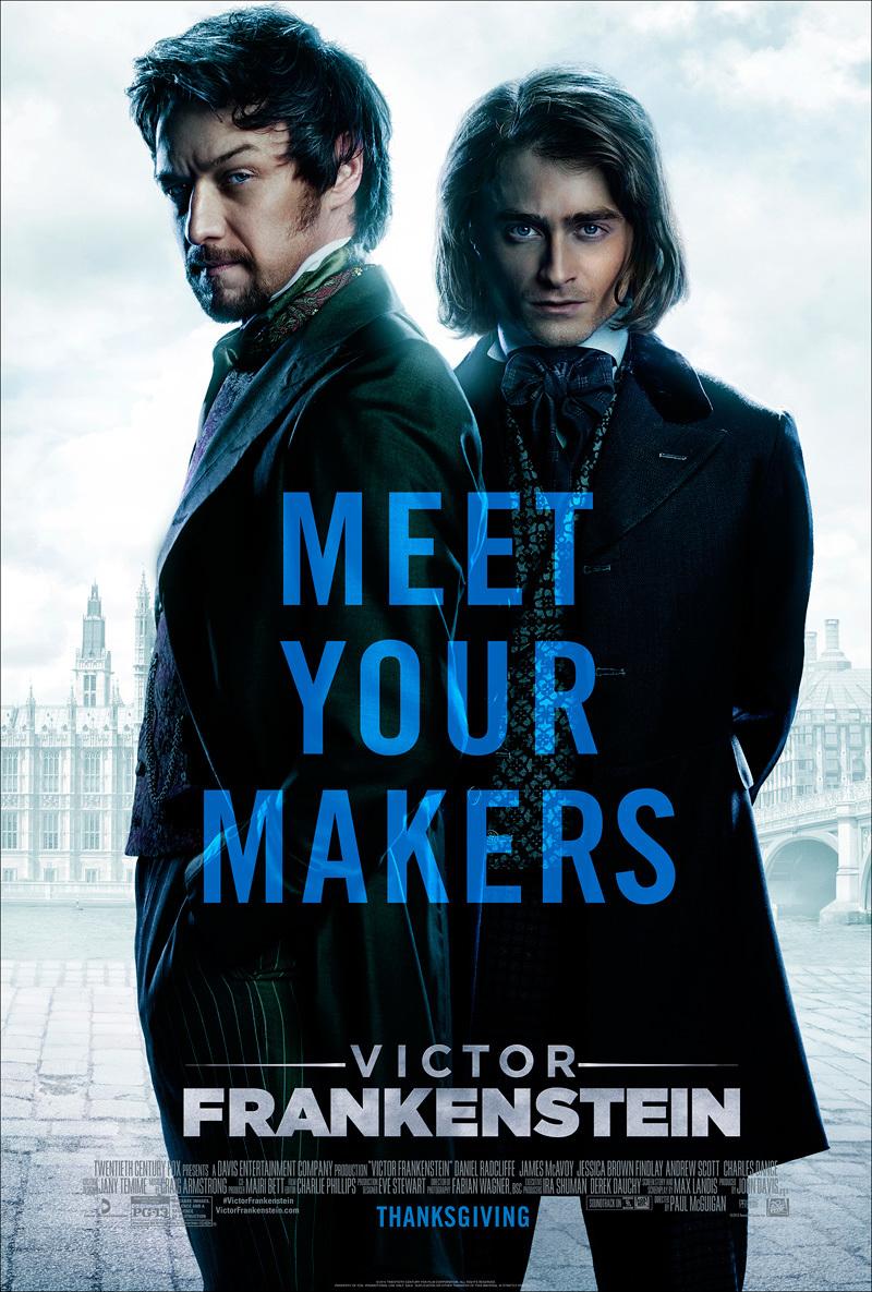 Eerste trailer & poster 'Victor Frankenstein'!