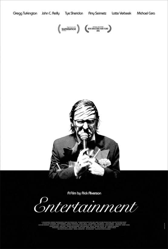 Heerlijk absurde trailer 'Entertainment'