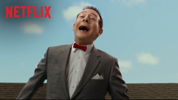 Pee-wee's Big Holiday - Date Announcement