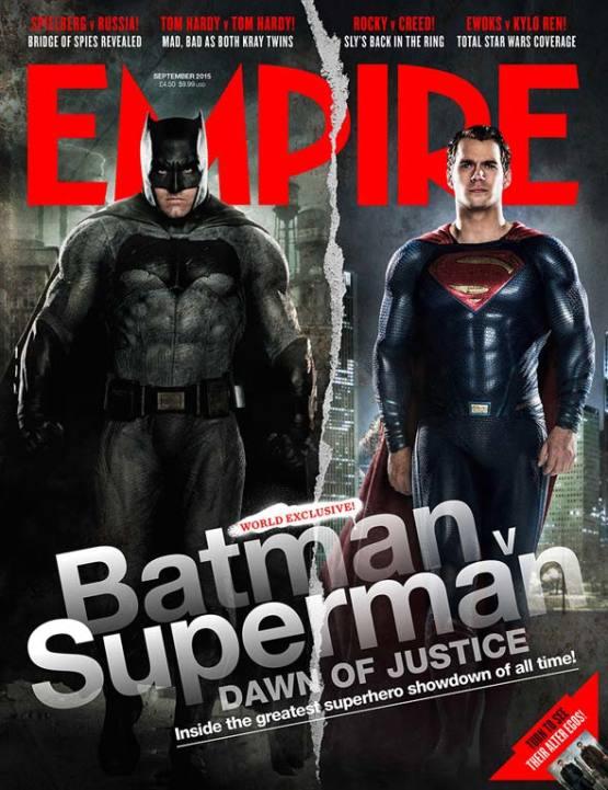 Ben 'Bodybuilder' Affleck als Batman op nieuwe cover Empire Magazine