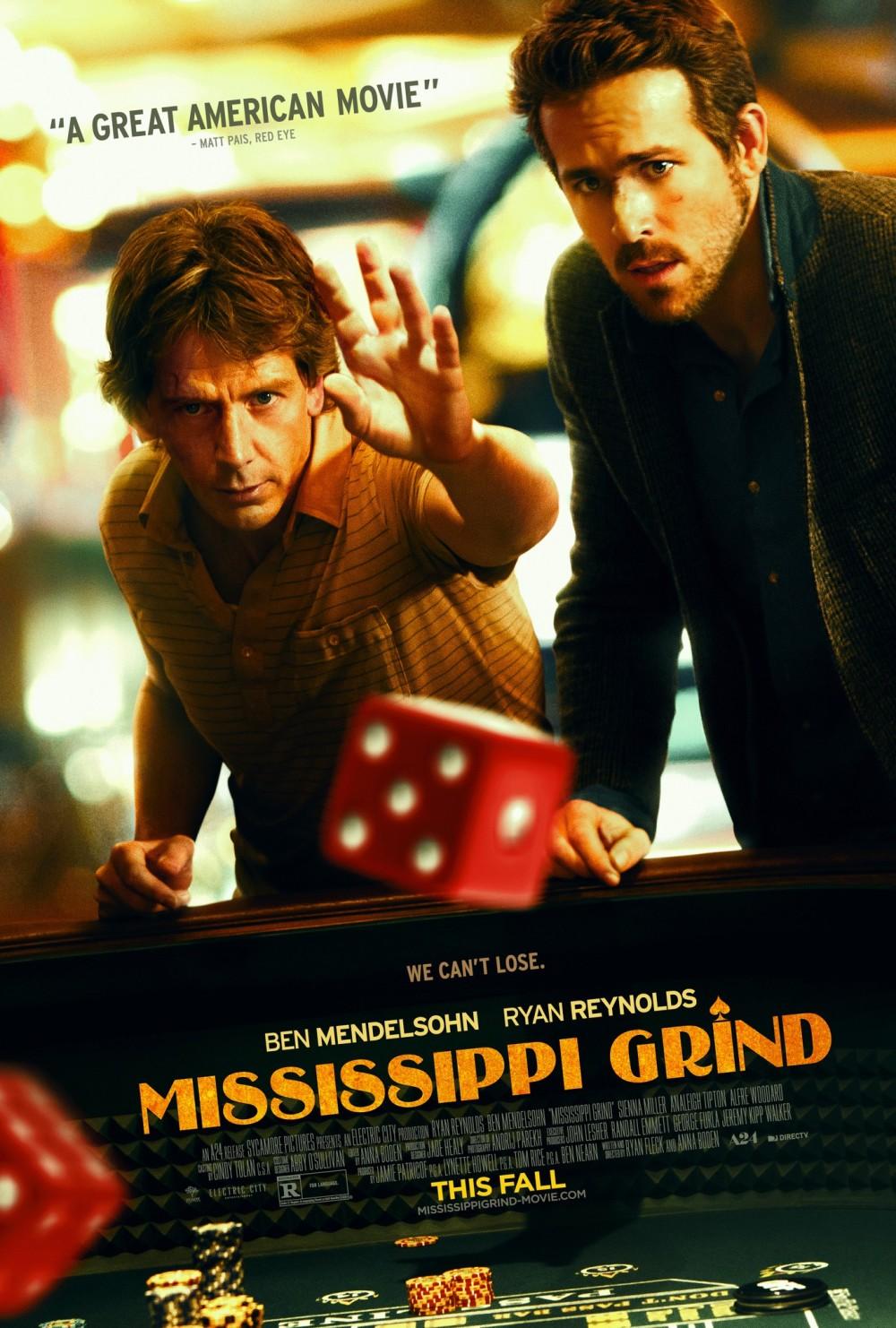 Ryan Reynolds gokt erop los in trailer 'Mississippi Grind'