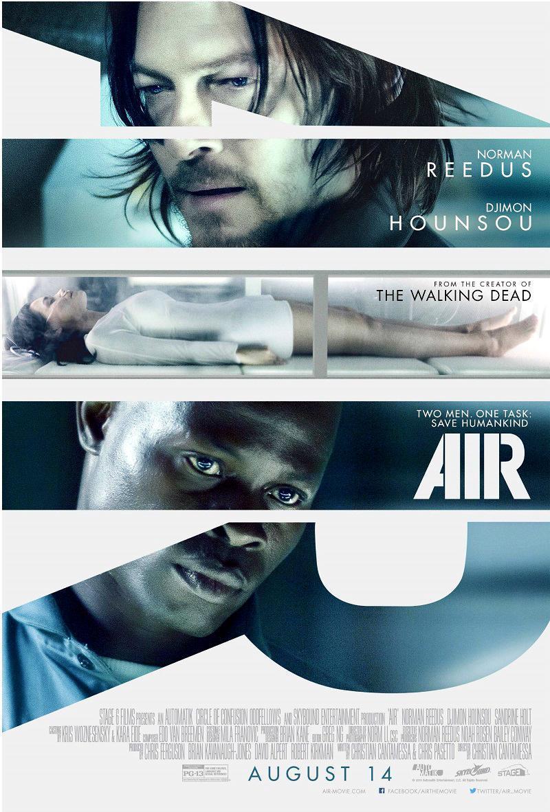 Trailer 'Air' met Norman Reedus en Djimon Hounsou