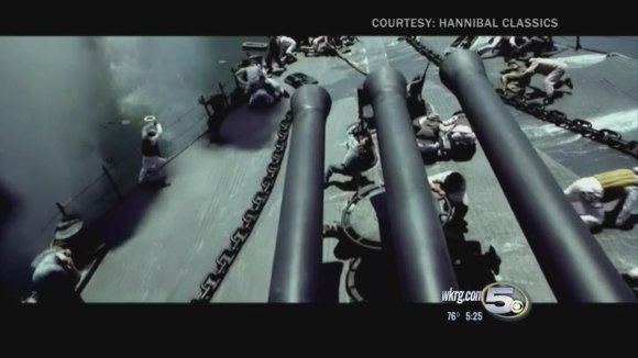 First footage from USS Indianapolis movie