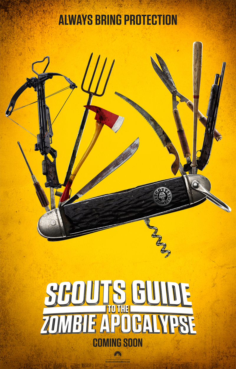 Poster en 16+ promovideo's 'Scout's Guide to the Zombie Apocalypse