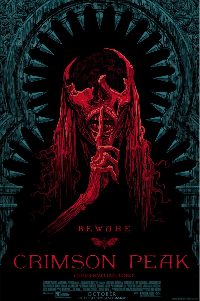 SDCC: Drie prachtige posters 'Crimson Peak'