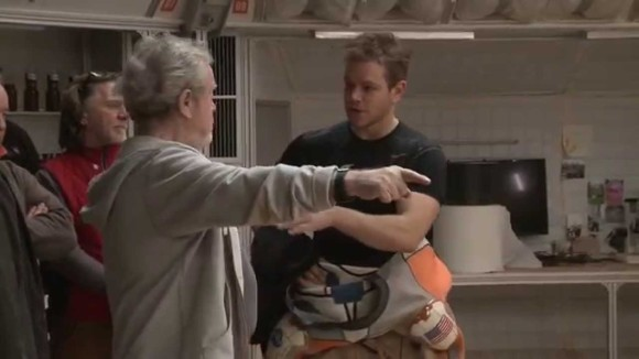 The Martian - B-roll footage