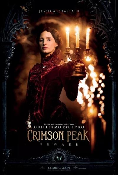 Vier posters Guillermo del Toro's 'Crimson Peak'