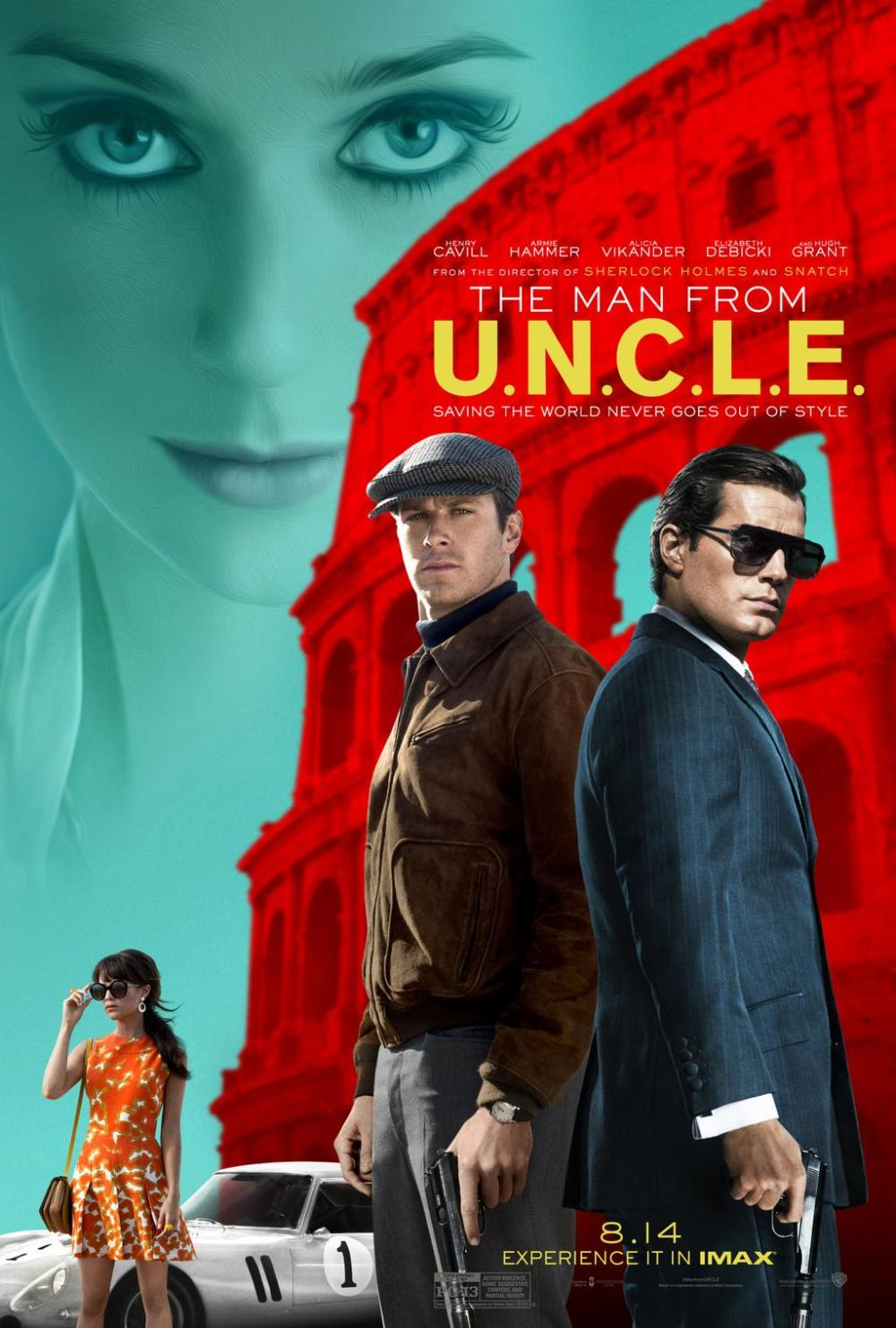 Gloednieuwe trailer & poster 'The Man from U.N.C.L.E.'