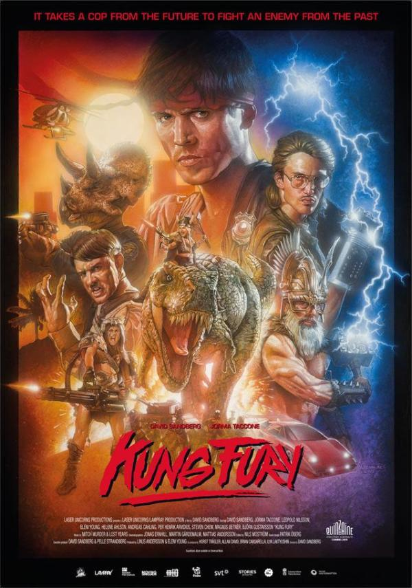 Krankzinnige en briljante korte film 'Kung Fury'!