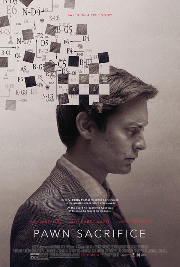 Trailer 'Pawn Sacrifice': Tobey Maguire schaakt tegen de Sovjet-Unie