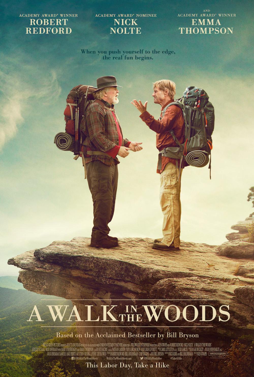 Trailer 'A Walk in the Woods' met Robert Redford en Nick Nolte