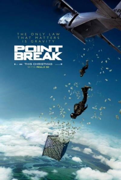 Eerste poster 'Point Break'