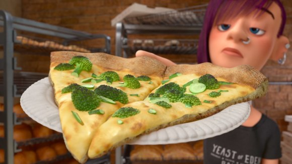 Inside Out - Pizza clip