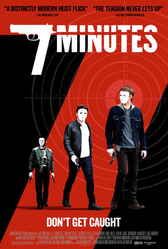 Trailer: een overval loopt uit de hand in '7 Minutes'