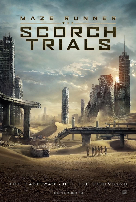 Eerste trailer 'Maze Runner: The Scorch Trials'!