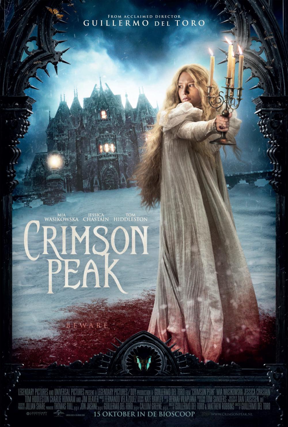 Volledige trailer Guillermo del Toro's 'Crimson Peak'