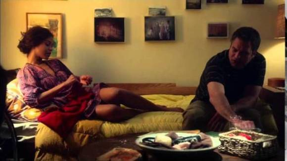 "Infinitely Polar Bear - Clip ""Cameron and Maggie on sofa"""