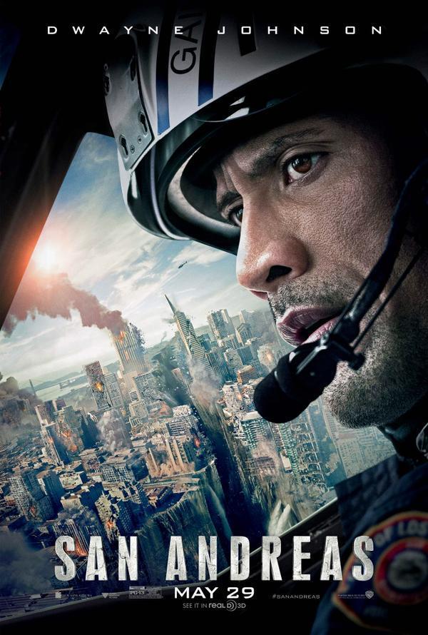 Tv-spot & poster 'San Andreas' met de onverwoestbare Dwayne Johnson