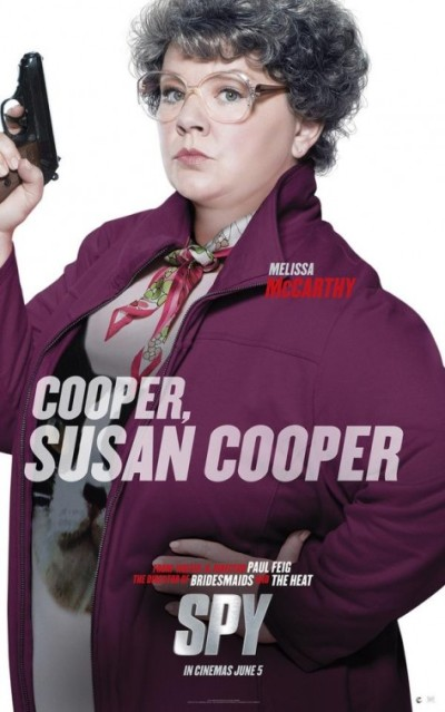 De alleswetende spion Jason Statham op posters 'Spy'