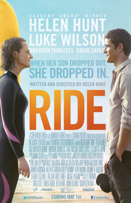 Trailer komedie 'Ride' van en met Helen Hunt
