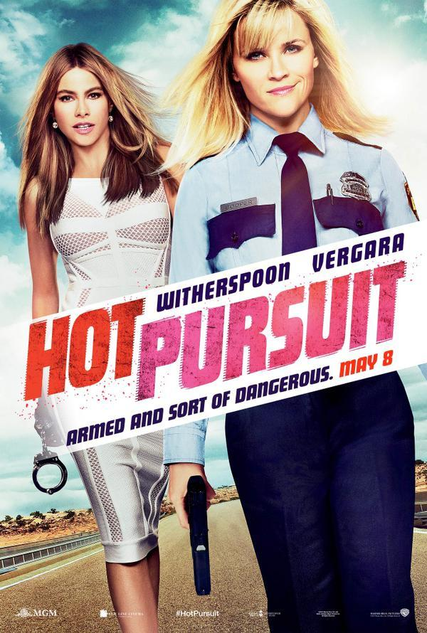 Poster 'Hot Pursuit' met Reese Witherspoon en Sofía Vergara