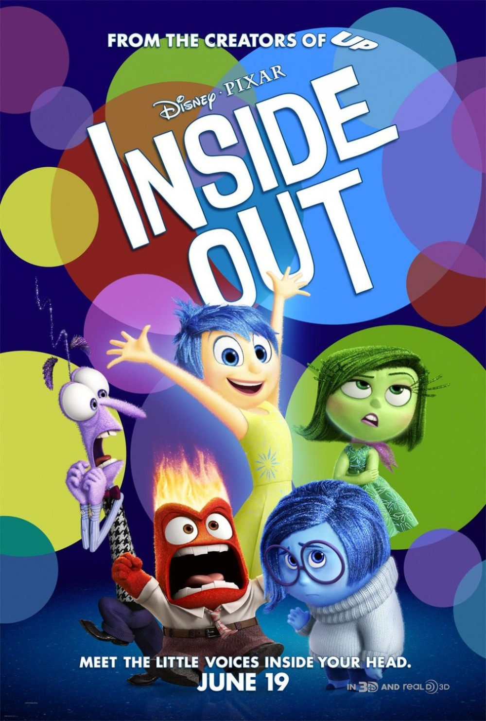 Nieuwste trailer 'Inside Out'!