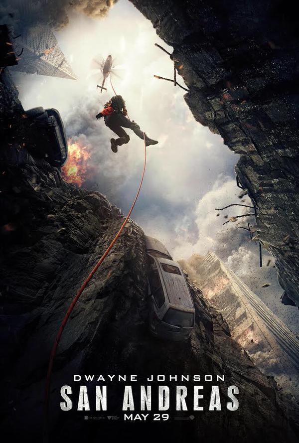 Nieuwe trailer & poster rampenfilm 'San Andreas'