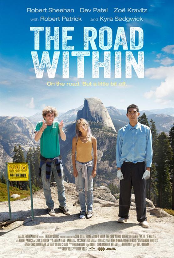 Drie gekkies maken een roadtrip in eerste trailer 'The Road Within'