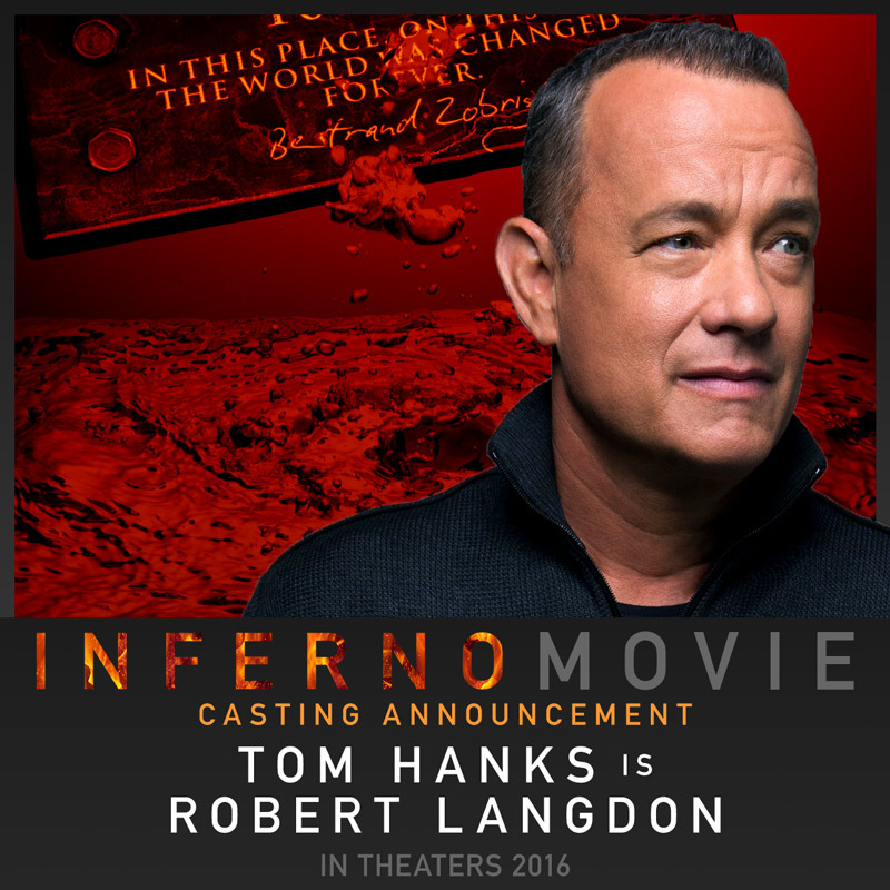 Cast bekend voor 'The Da Vinci Code'-sequel 'Inferno'