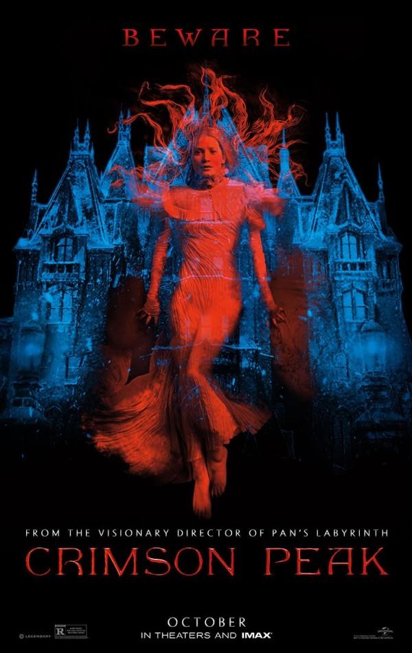 Eerste trailer Guillermo del Toro's 'Crimson Peak'
