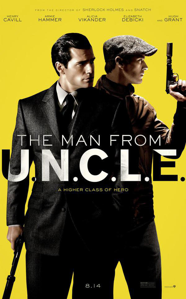Eerste trailer & poster 'The Man From U.N.C.L.E.'!