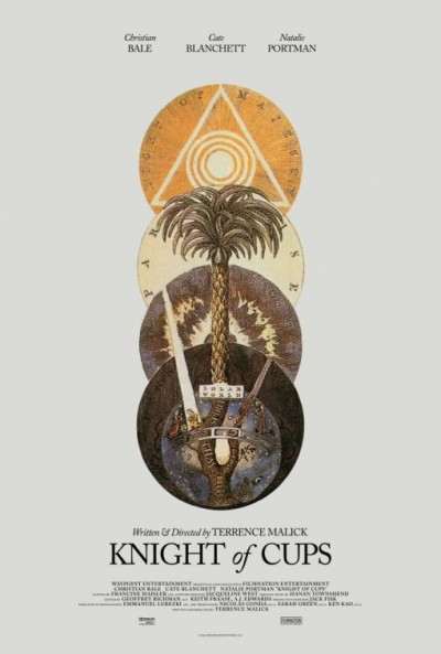 Poster voor Terrence Malicks 'Knight of Cups'