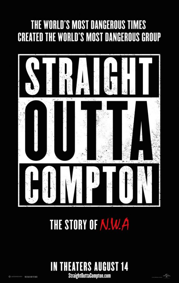 Hiphopgroep N.W.A. is terug in eerste trailer 'Straight Outta Compton' (red band)