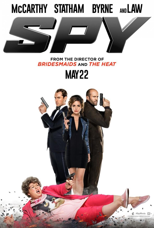 Eerste trailer 'Spy' met Melissa McCarthy en Jason Statham