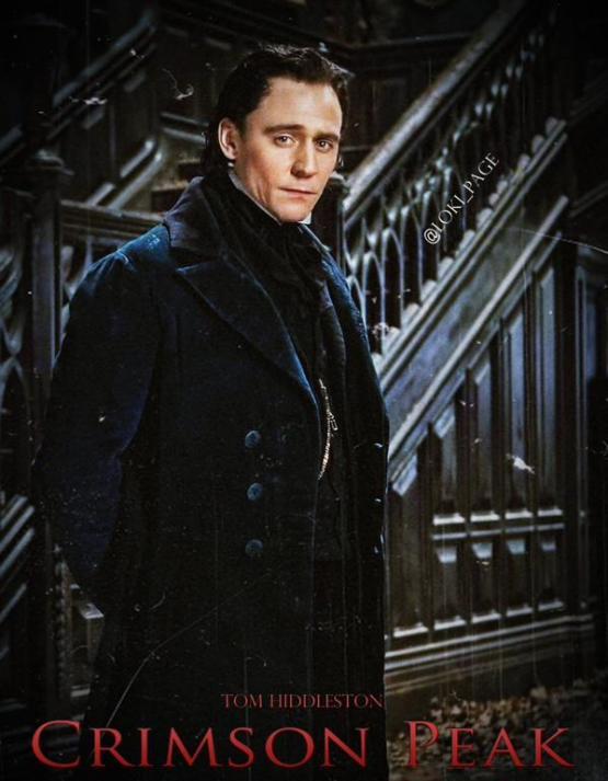 Eerste blik op Tom Hiddleston in 'Crimson Peak'