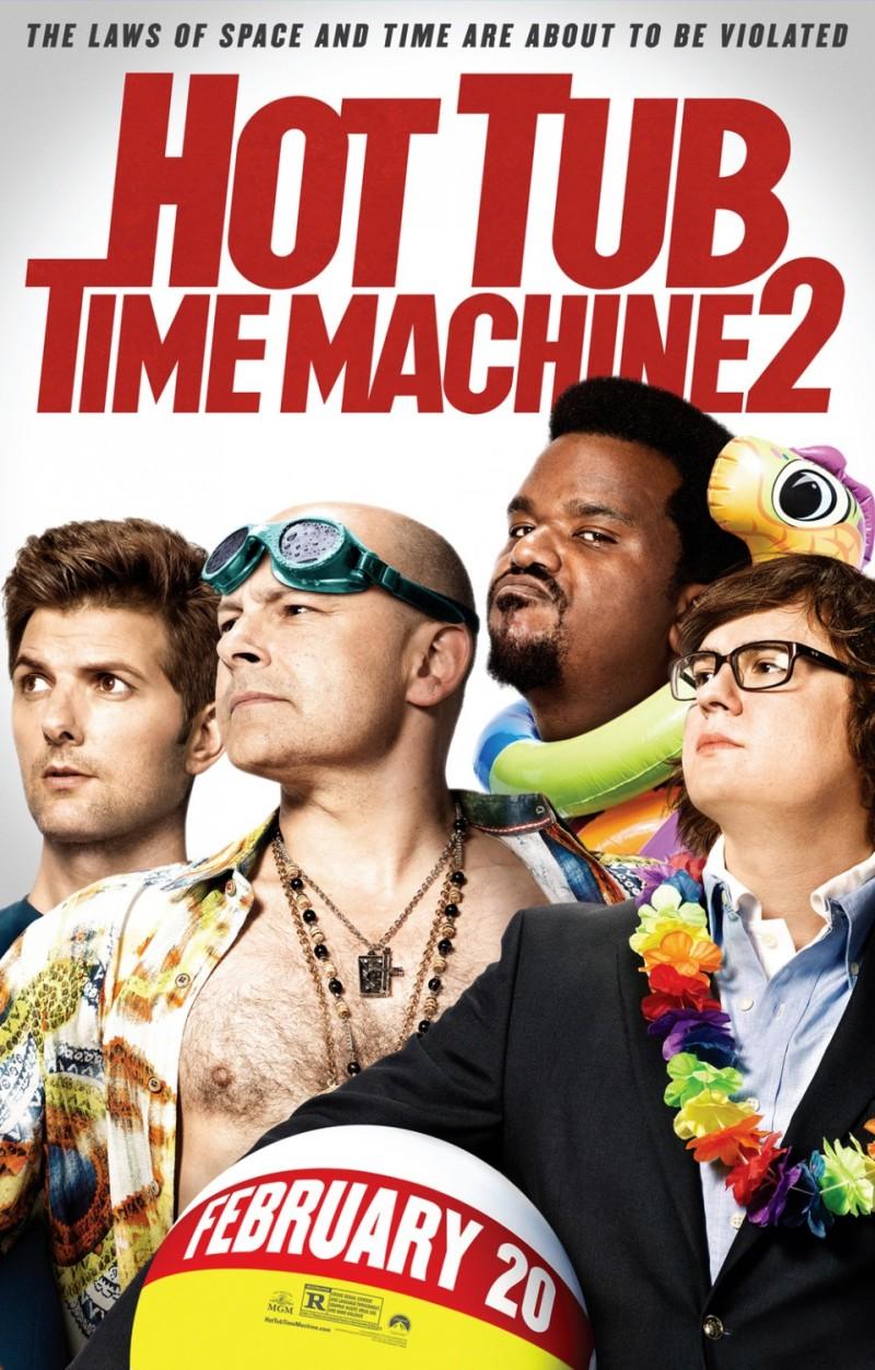 Nieuwe trailer 'Hot Tub Time Machine 2'